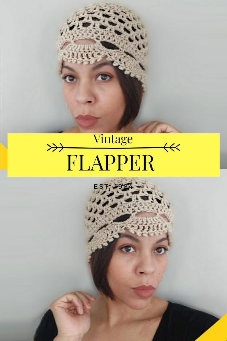 Free Vintage Crochet Hat Is 1920s Chic In 2020 Crochet Hats