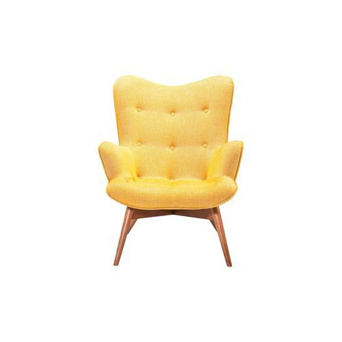 Fauteuil Angels Wings Rhythm Moutarde Kare Design Jaune Angel Wings - Fauteuil design moutarde