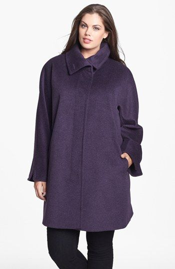 f8414b8e430 Ellen Tracy Dolman Sleeve Topper (Plus Size) available at  Nordstrom. wool