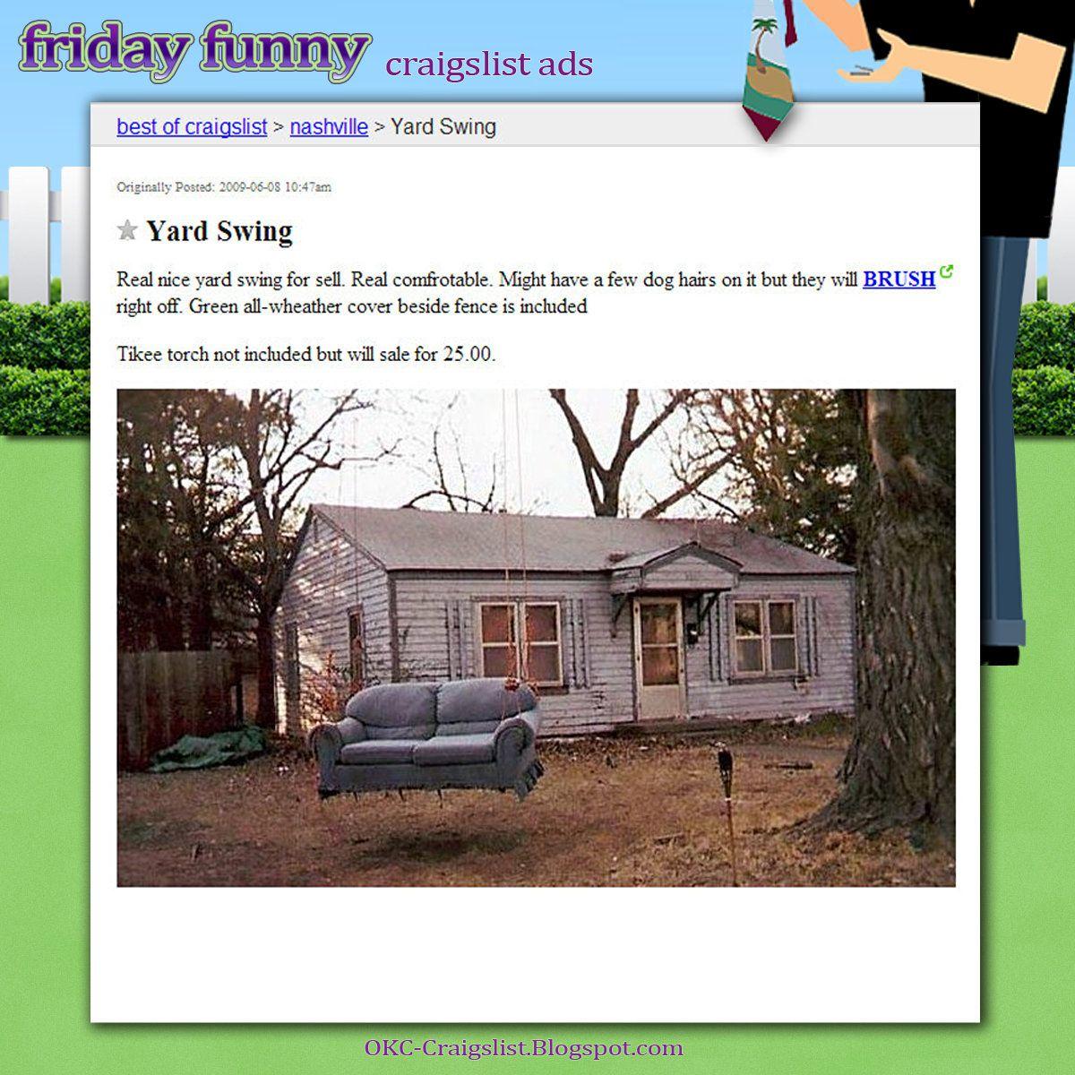 Pin On Funny Craigslist Ads