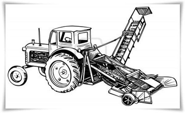 traktor ausmalbilder 06  ausmalbilder  pinterest