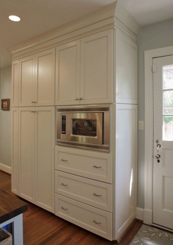 astonishing built kitchen pantry design