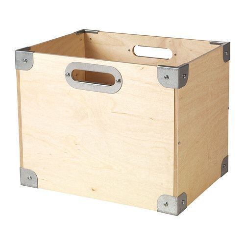 Ikea Snack ikea snack box stackable. easy to pull out and lift as the box has
