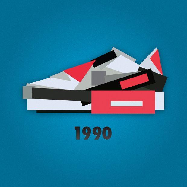 Jack Stocker Illustration Art Nike Air Max 90 Infrared 1990