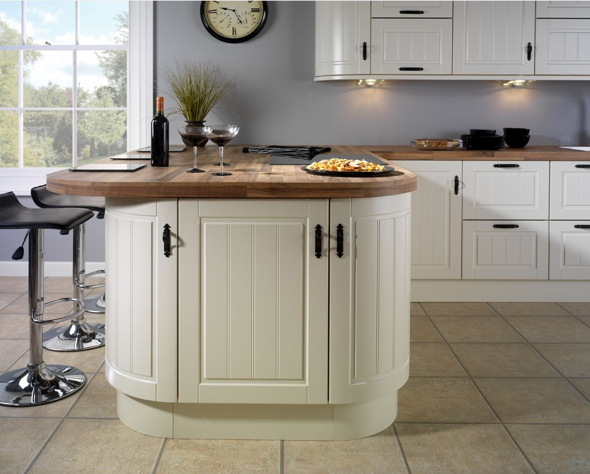 Avondale Ivory, Matt Finish Kitchen Doors