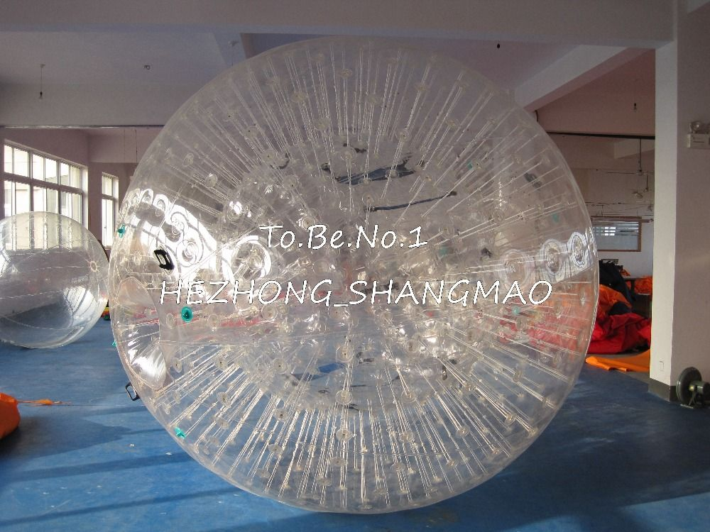 2 0m 1 5m Inflatable Zorb Ball Zorbing Human Hamster Ball 1300w