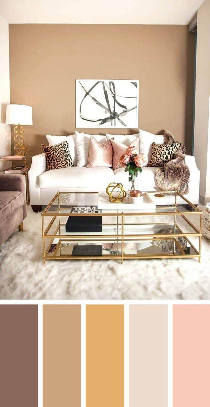 57+ Living Room Color Schemes To Make Color Harmony In Yours - #color #Harmony #...#color #harmony #living #room #schemes