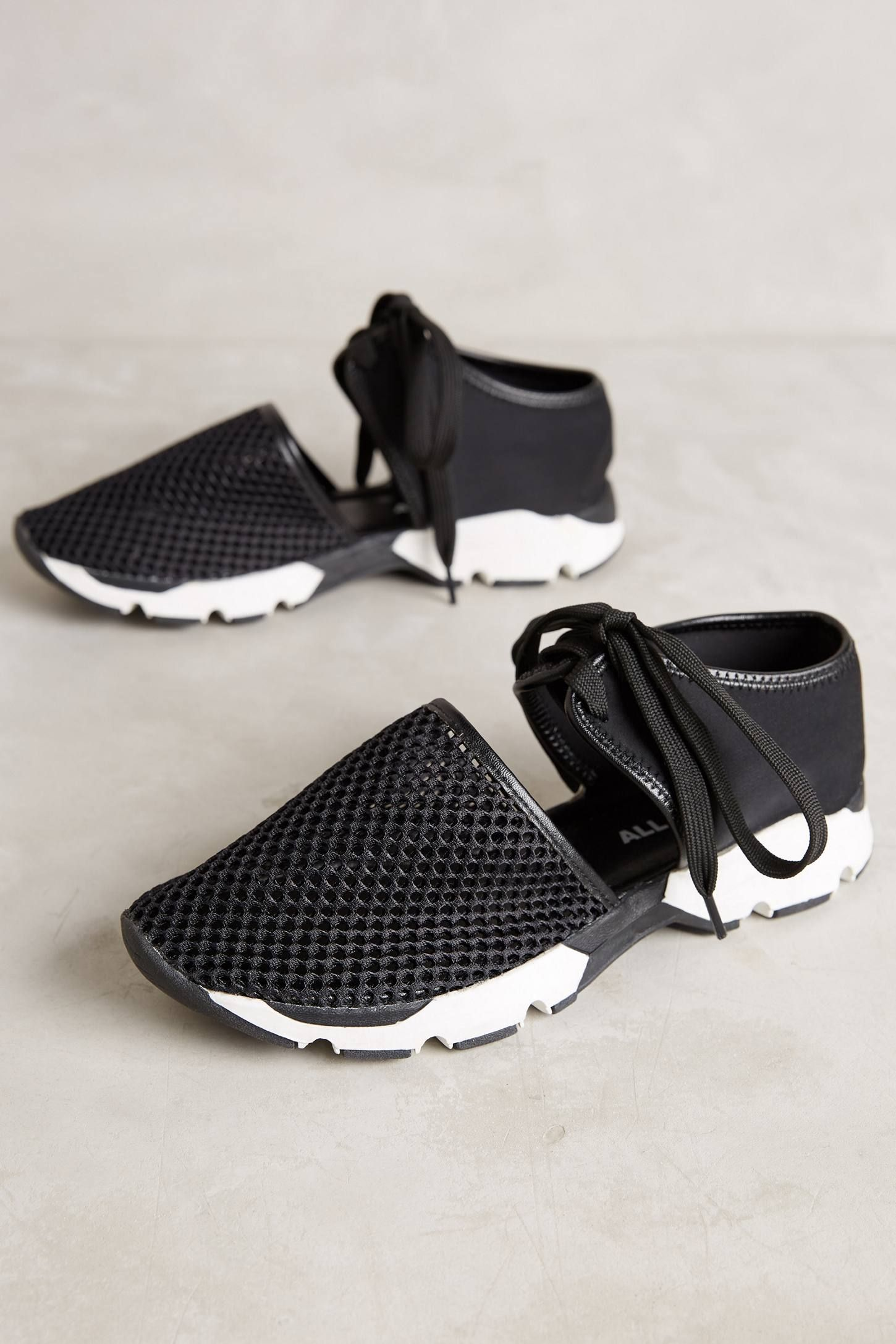 All Black Mesh Sneakers Shoes, Sneakers, Shoe boots