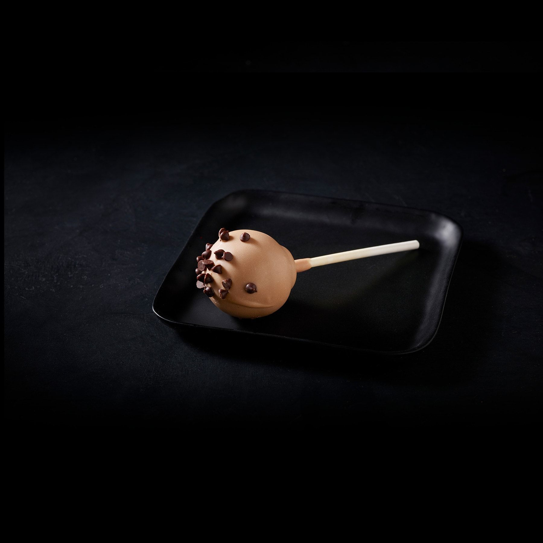 Chocolate chip cookie dough cake pop chocolate chip