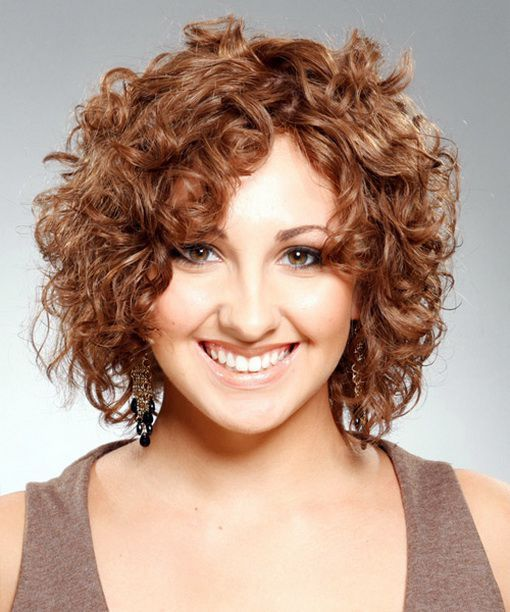 20 Hairstyles For Curly Frizzy Hair Womens Short Curly