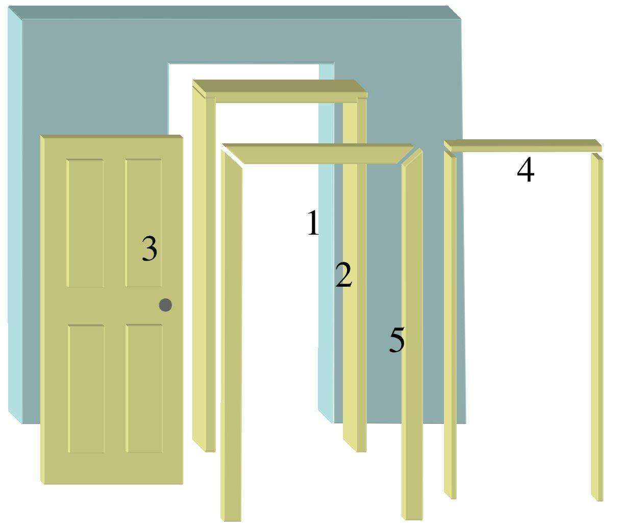 Interior Door Frame 2 3d Framing Pinterest Interior Door
