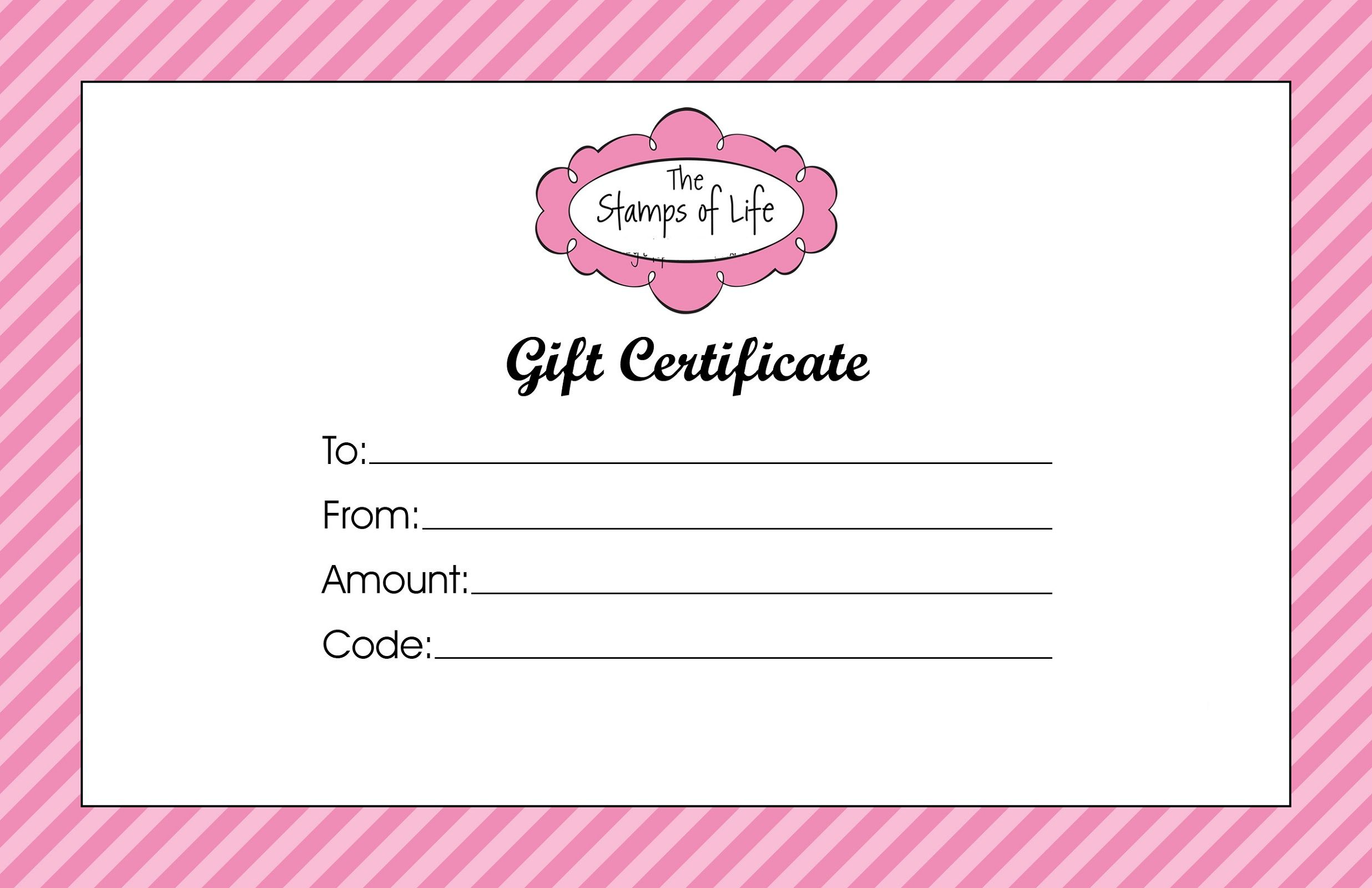 Gift Certificate Templates To Print Activity Shelter Regarding Pink Gift Cer Gift Certificate Template Gift Certificate Template Word Beauty Gift Certificate Free gift card template word