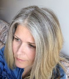 5 Reasons I Stopped Coloring My Hair | April 26, Grey hair and ...