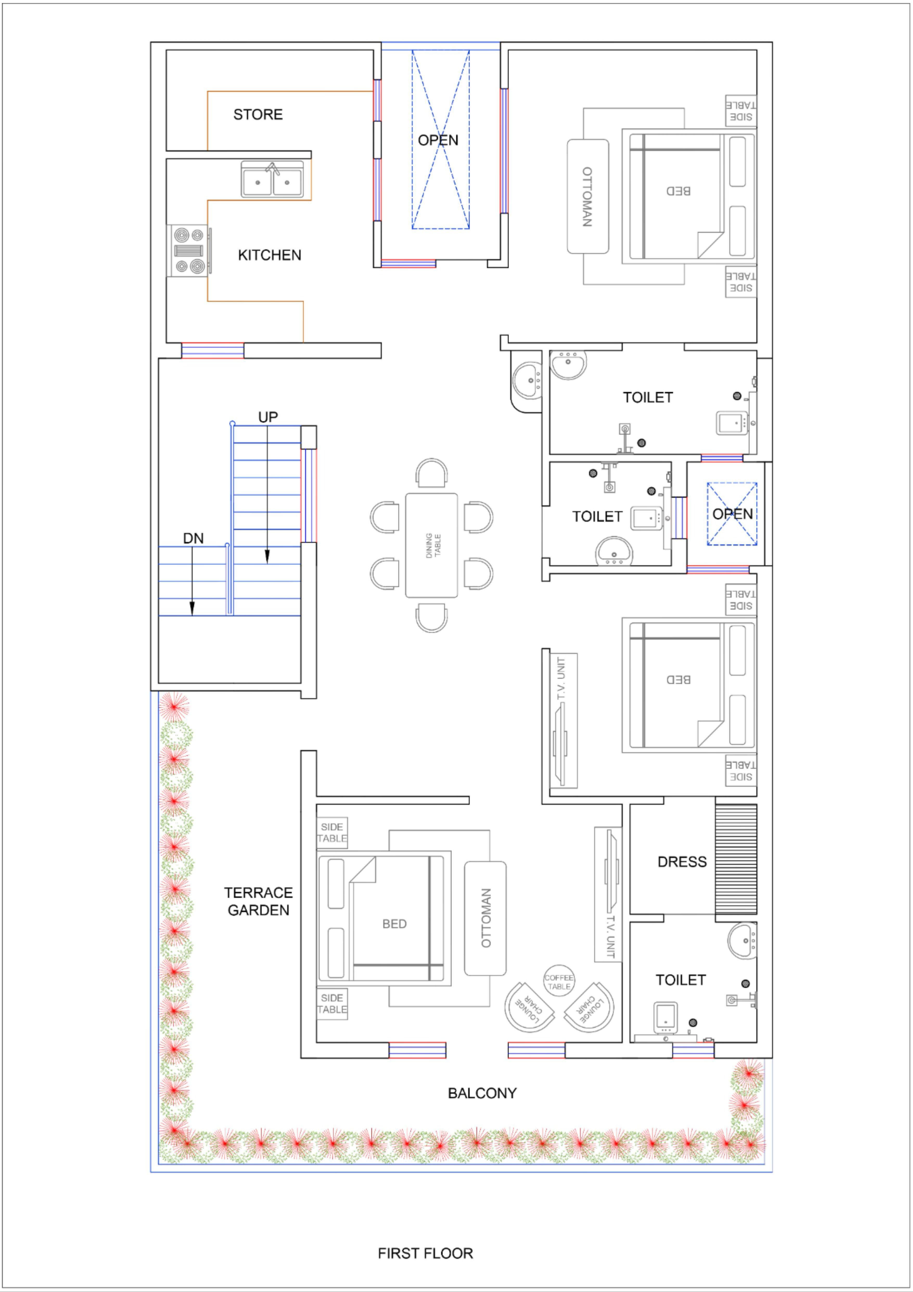 50 Floor Plans Ideas In 2021 House Plans House Map Indian House Plans