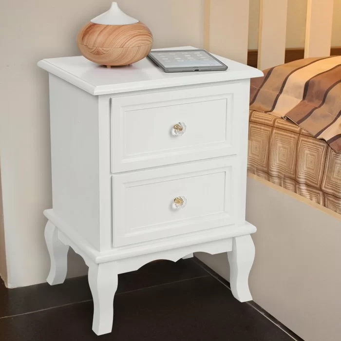 Brandt 2 Drawer Bedside Tables Bed Frame Drawers Decorate Your