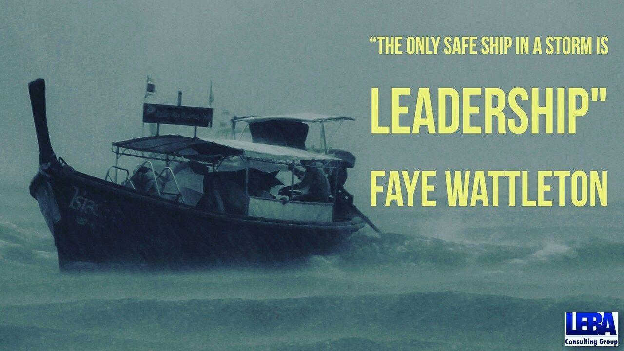 """The only safe ship in a storm is leadership""~Faye Wattleton #Leadership #LeadershipDevelopment #ExecutiveCoaching #Leader #OrangeCounty #LA #LosAngeles #Irvine #NewportBeach #HuntingtonBeach #CostaMesa"