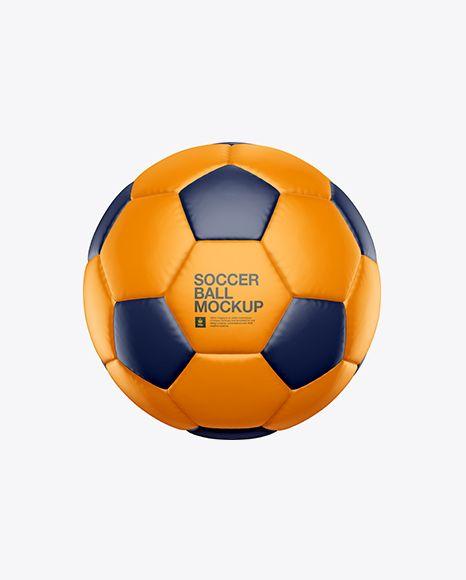 Download Matte Soccer Ball Mockup In Object Mockups On Yellow Images Object Mockups Mockup Free Psd Mockup Free Download Design Mockup Free