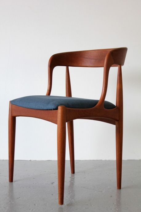 Dining Chairs By Johannes Andersen 1965 Midcentury Modern