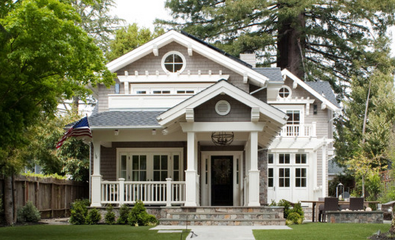 from houzz House exterior, Craftsman house, Traditional