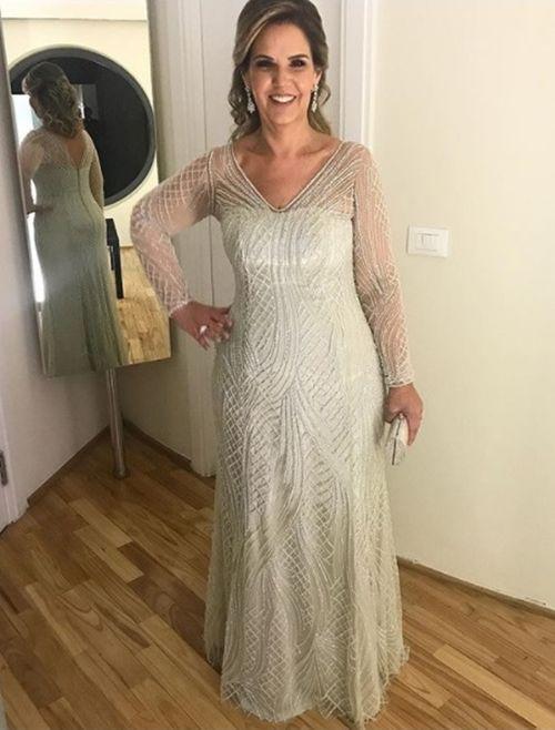 vestidos para m e da noiva 2018 m e da noiva ou do noivo dresses formal gowns e gowns. Black Bedroom Furniture Sets. Home Design Ideas