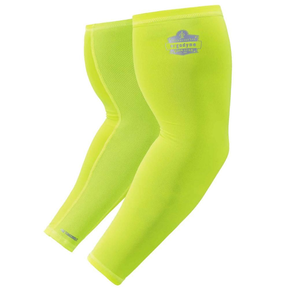 Ergodyne Chill Its 6690 2x Large Lime Cooling Arm Sleeves 6690