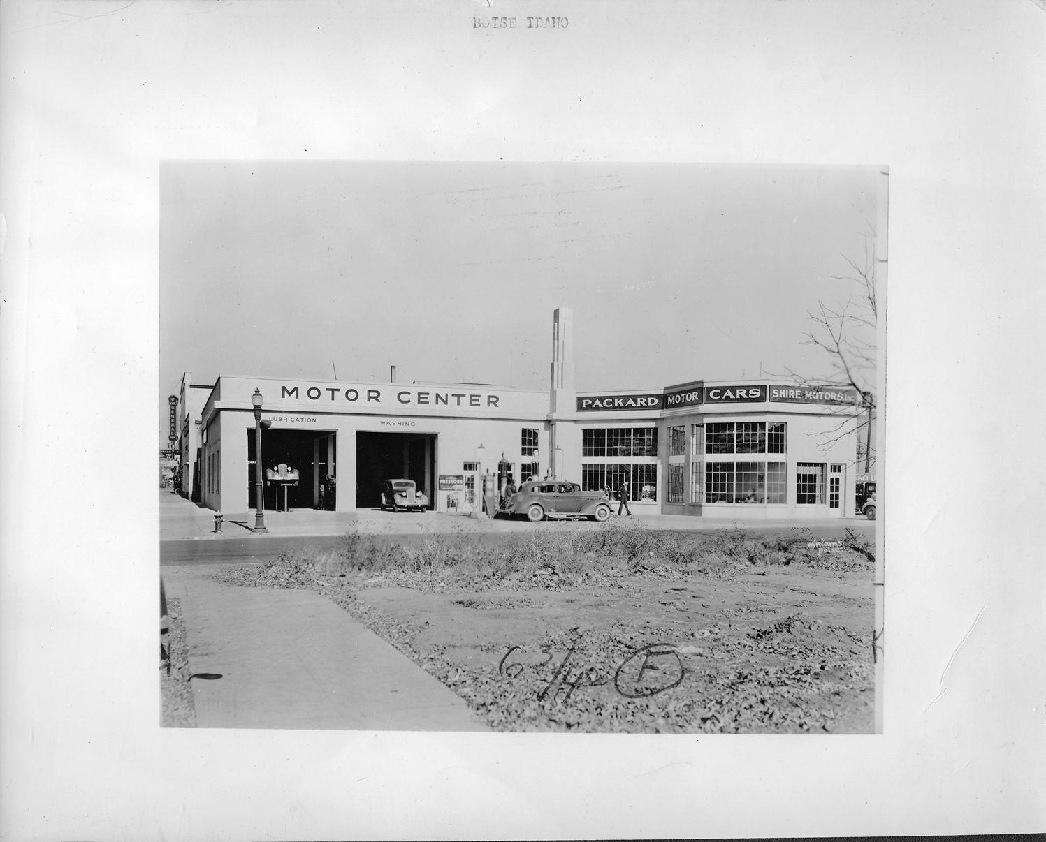 Car Dealerships In Boise Idaho >> Packard dealership, Boise, Idaho, 1938   DPL DAMS   Packard, Dealership, Car dealership