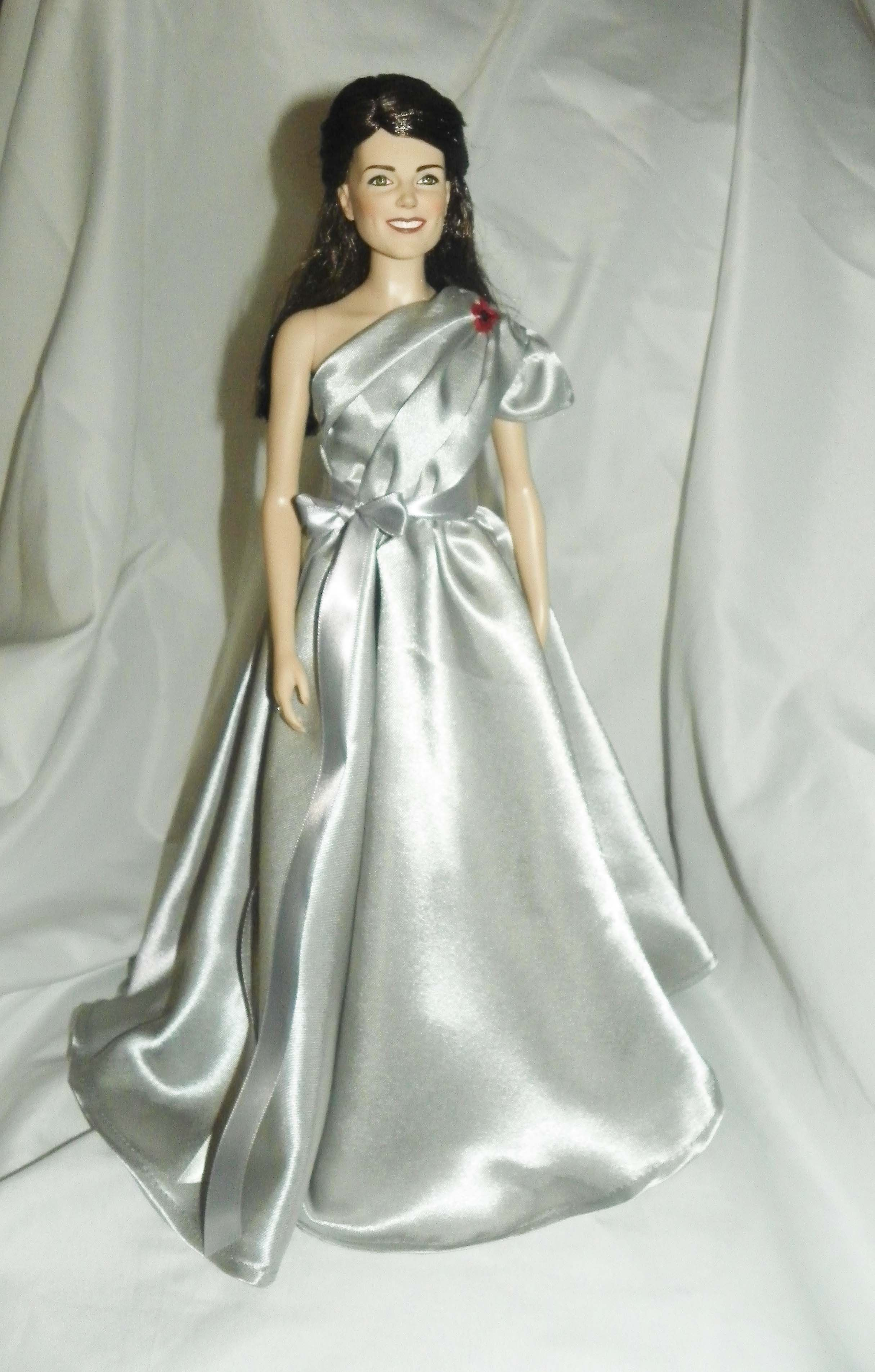 Silver one shoulder gown worn 2012? Another favorite