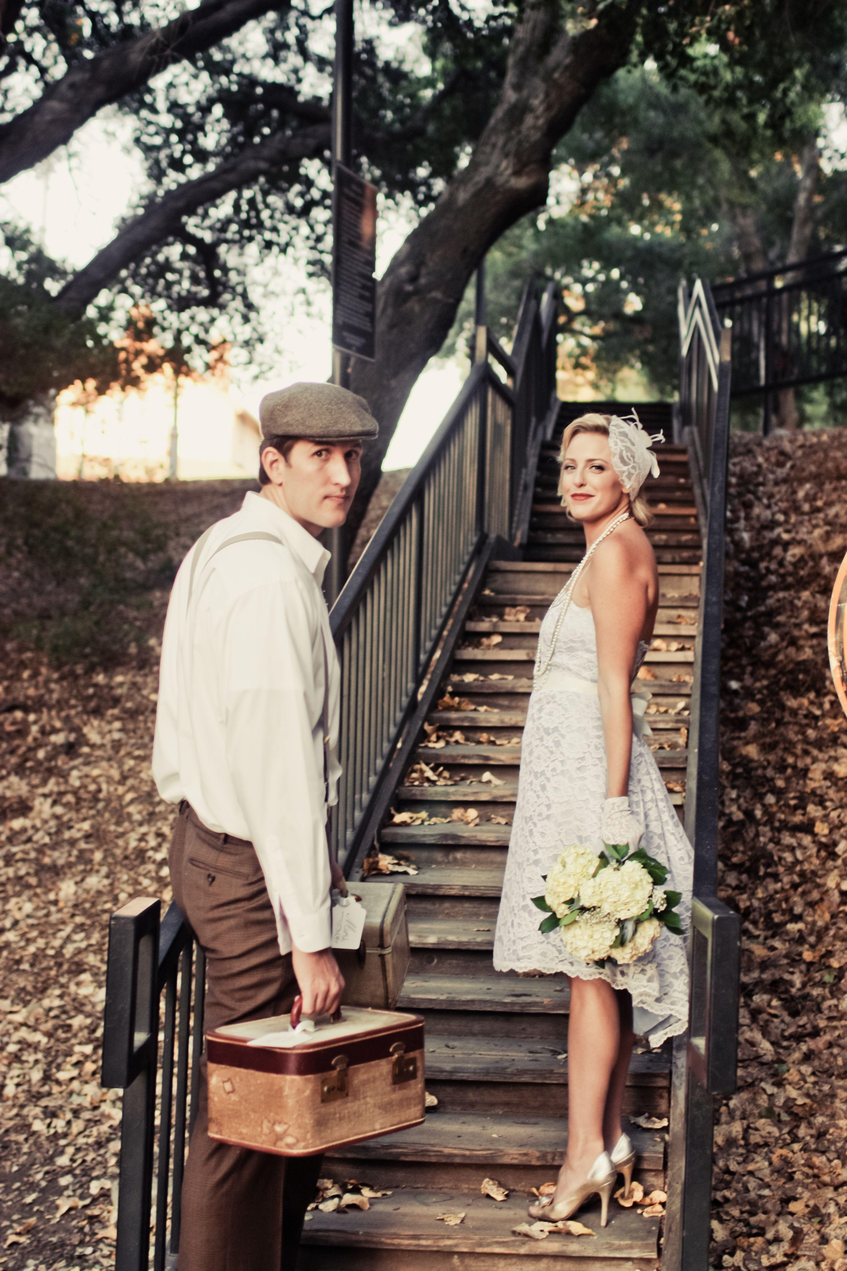 1930's vintage wedding inspiration shoot   wedding