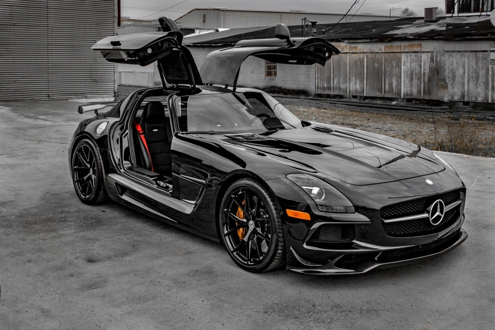 Sls Black Series >> 2014 Mercedes Benz Sls Amg Black Series Bil Bilar Och Serier