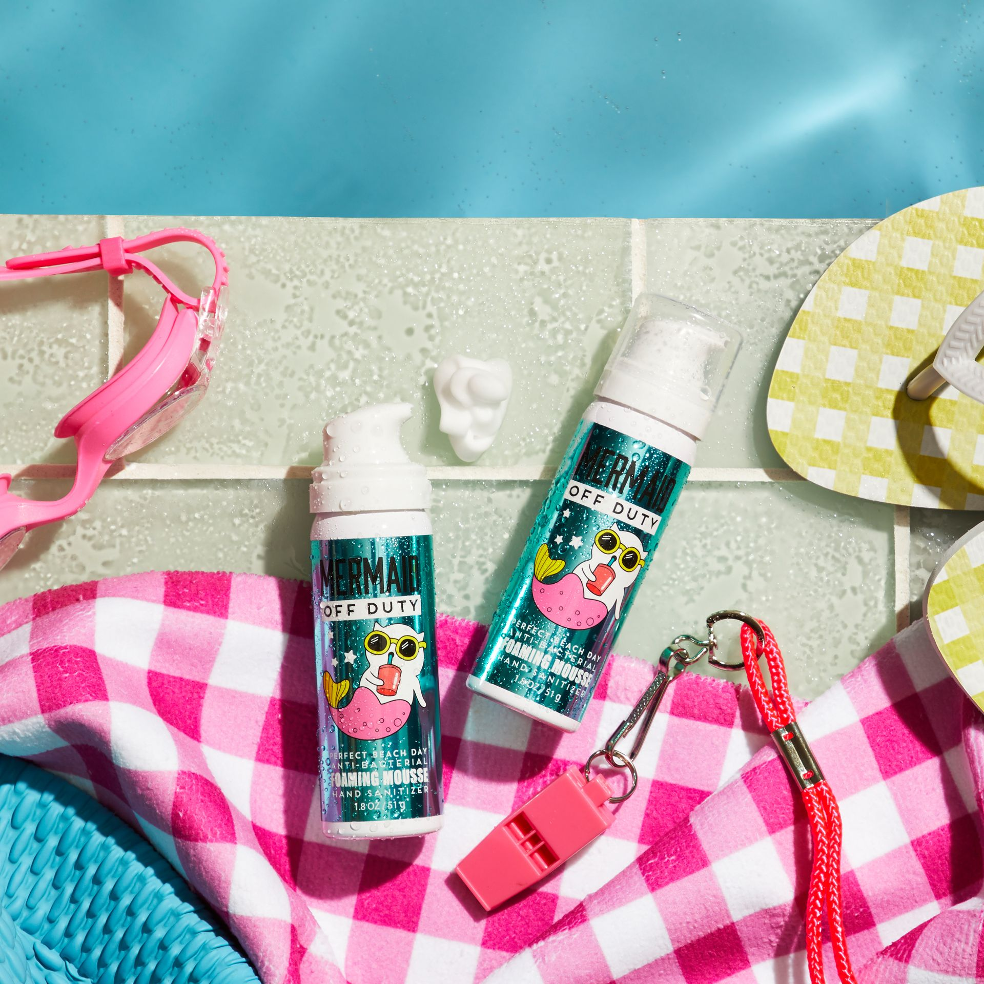 Mermaid Off Duty Foaming Mousse Sanitizer Bath And Body Works