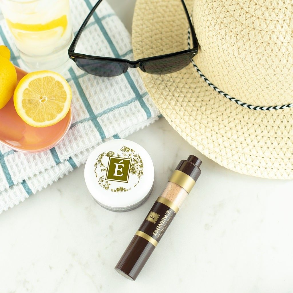 Protect your skin with a mineral based sunscreen