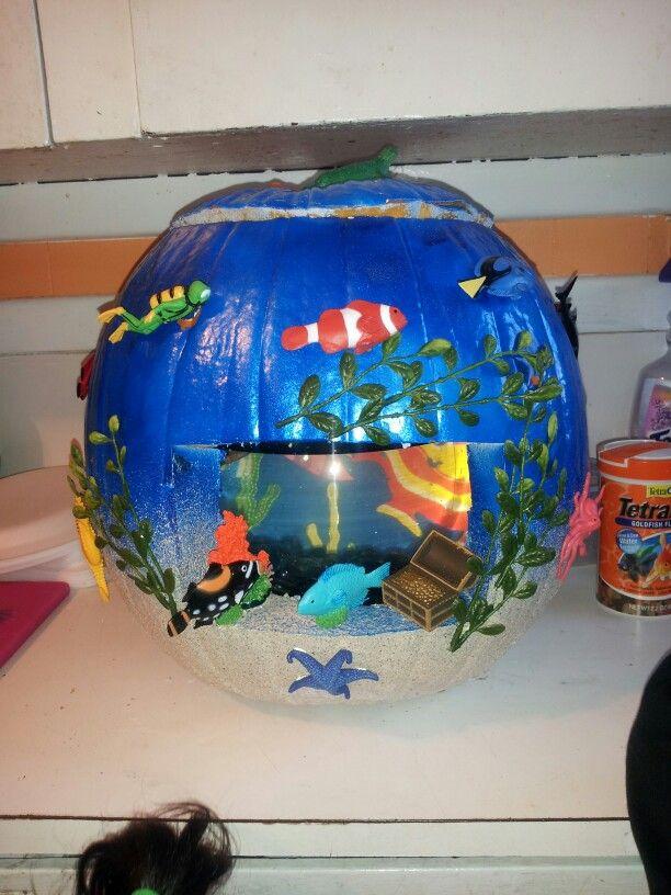 My kids pumpkin project