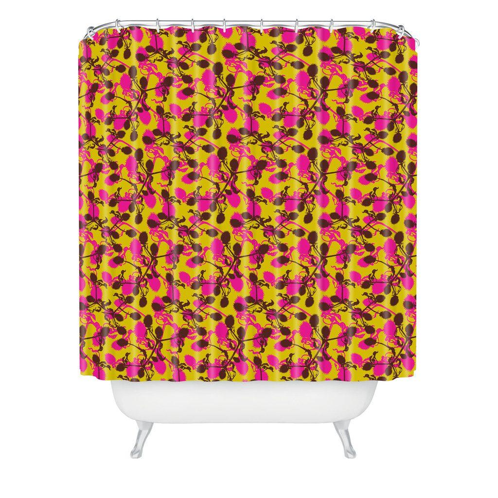 Caroline Okun Amethyst Shower Curtain – DENY Designs