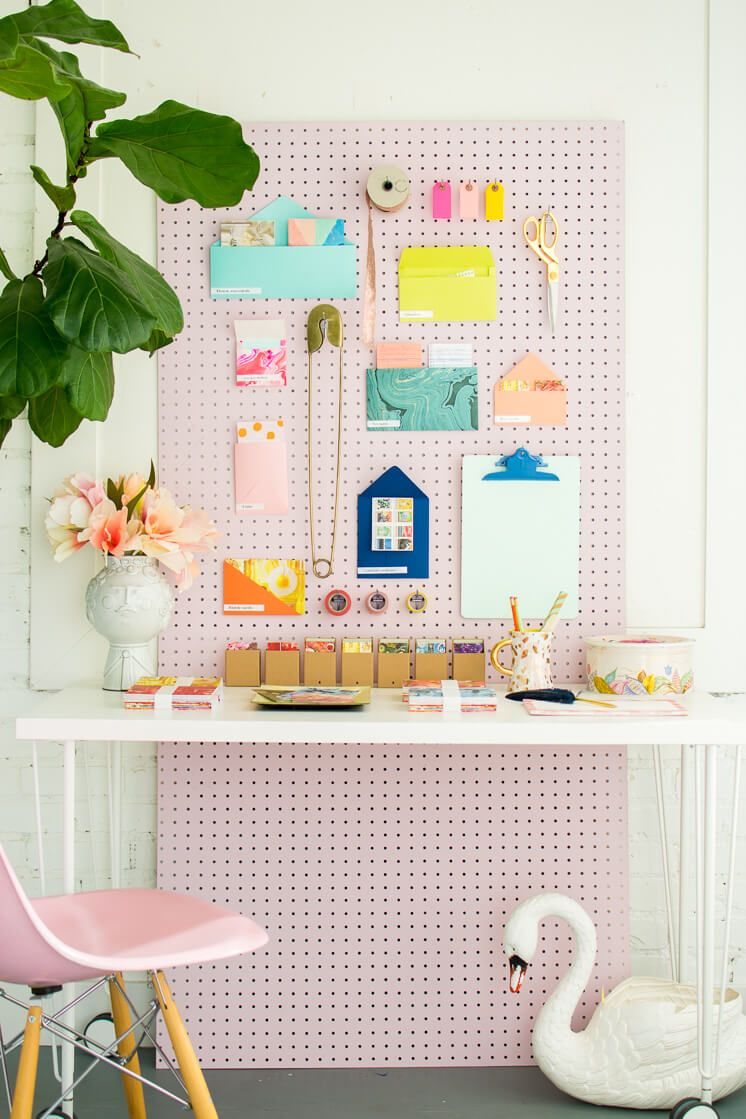 23 Creative Diy Pegboard Ideas To Organize Your Messiest Areas With Style Peg Board Room Diy Diy Decor