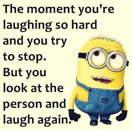 Me Yes I Laugh Until My Face Turns Purple From Lack Of Oxygen Minion Jokes Funny Minion Quotes Minions Quotes