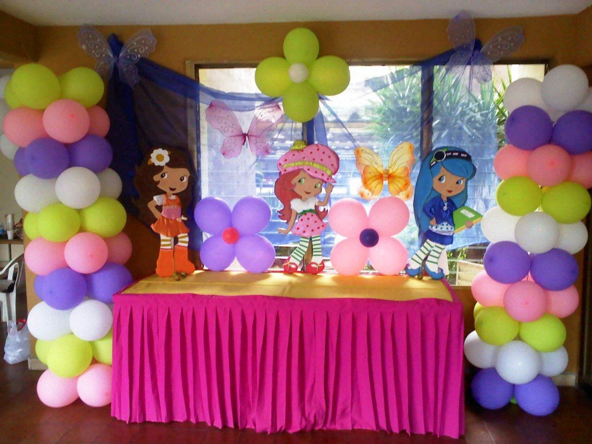 La decoraci n de salones para cumplea os infantiles son for Decoracion barata