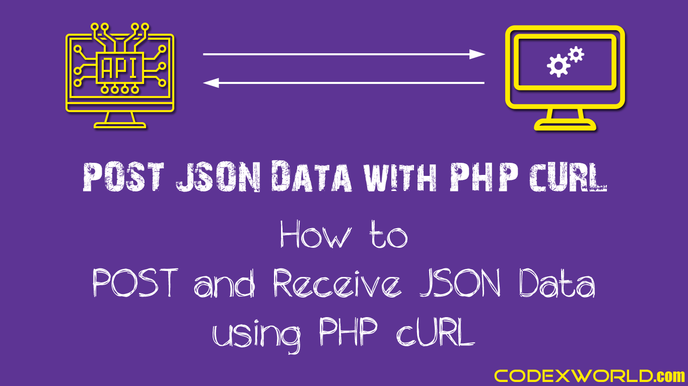 Post Json Data To Url With Php Curl Learn How To Send Json Data