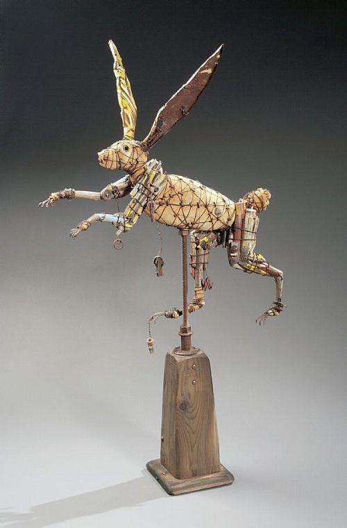 Say goodbye to the Year of the Rabbit... Geoffrey Gorman artwork...