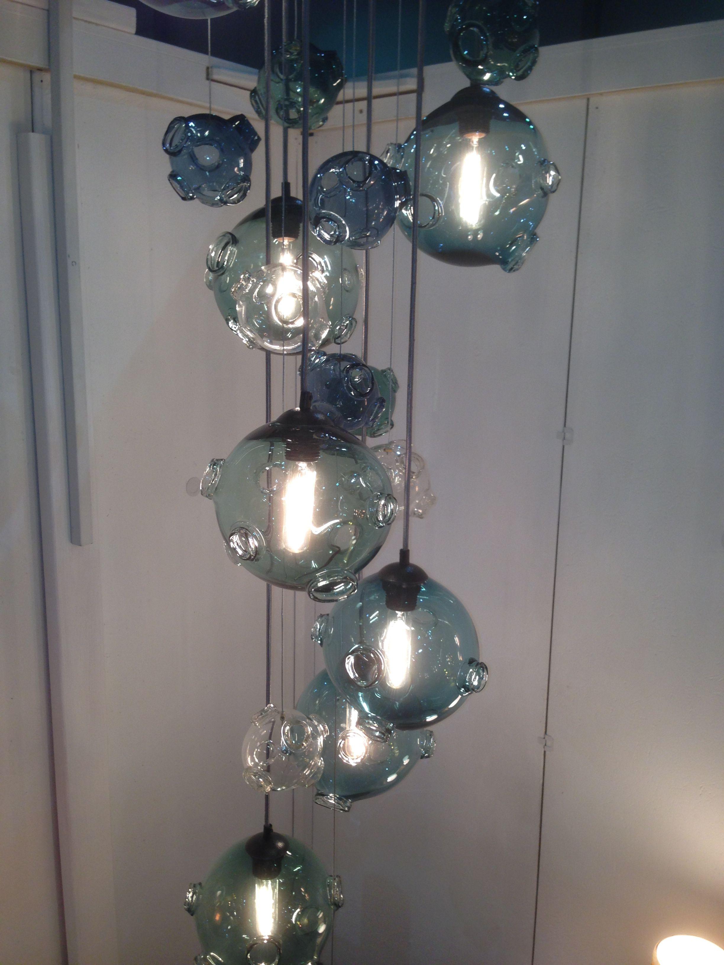Providence Art Glass Meteor Shower Ceiling Lights Glass Art