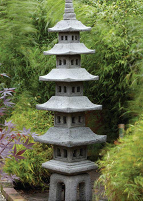 7 Piece Pagoda Garden Ornament | Garden Love | Japanese