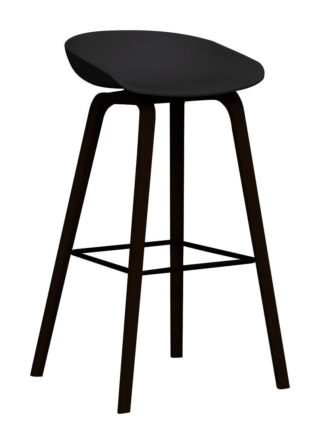 Tabouret De Bar About A Stool Aas 32 H 75 Cm Plastique