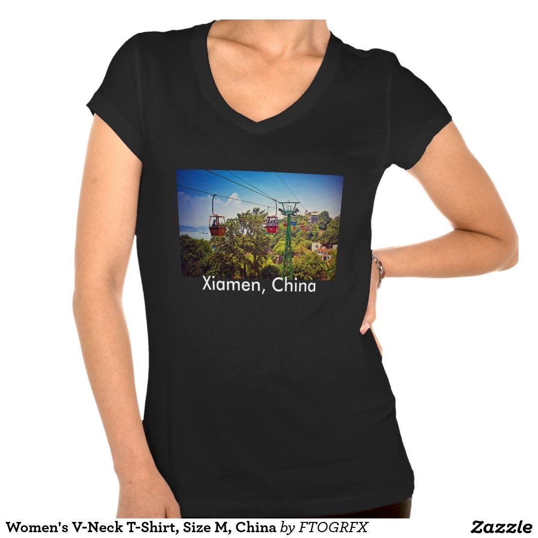 I Love Heart Xiamen V-Neck T-Shirt
