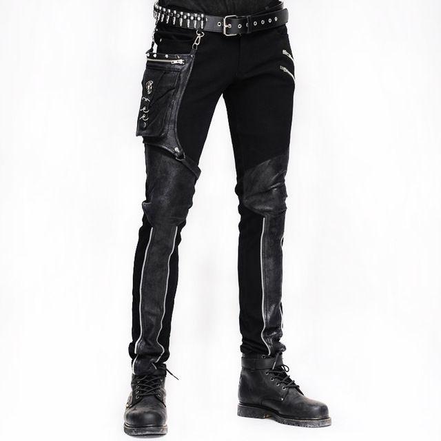 Invierno De Los Hombres De Steampunk Gotico De Cintura Alta Pantalones Para Hombre Pantalones La Pantalones De Hombre Moda Moda Ropa Hombre Ropa De Moda Hombre