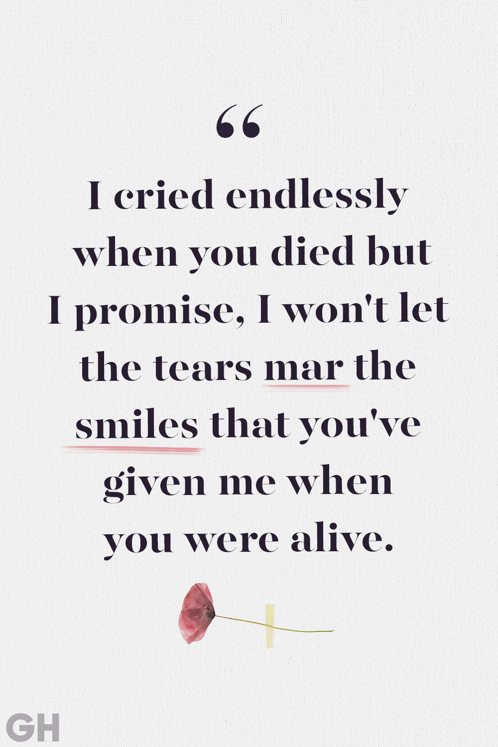 24 Beautiful Quotes to Help Comfort Anyone Who's Lost ...