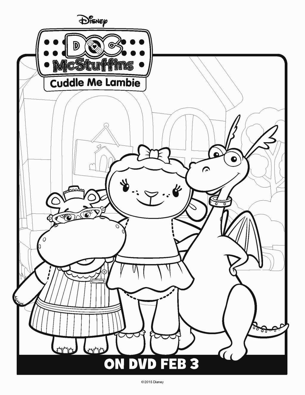 Coloring Pages Of Doc Mcstuffins | Coloring Pages | Pinterest