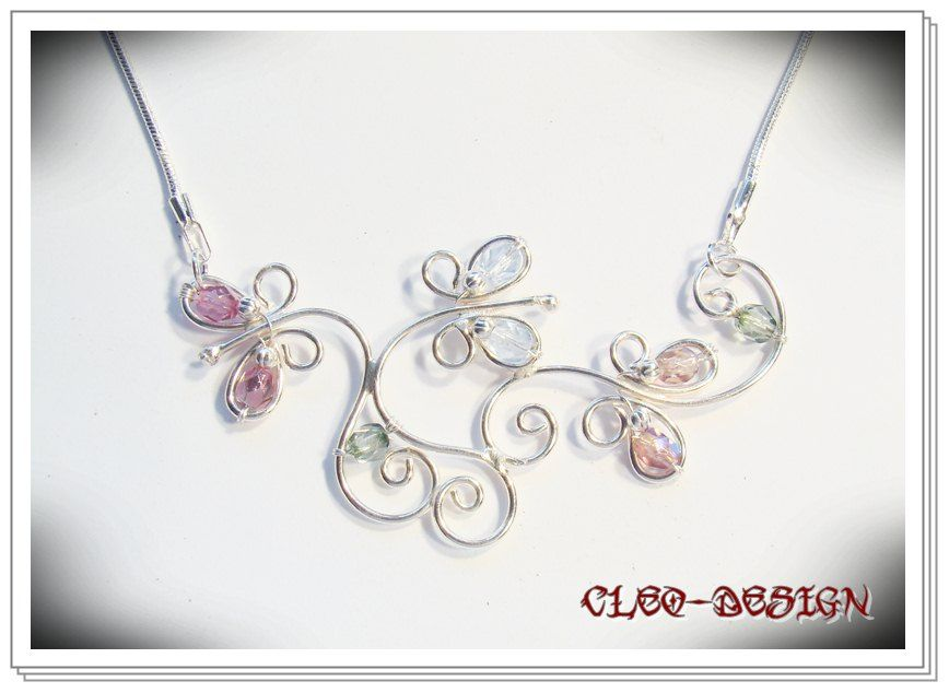 wonderful wirework necklace Projects to Try Pinterest Wire
