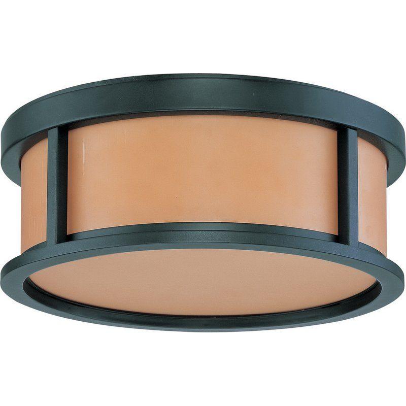 Casteel 2 - Light Unique/Statement Drum LED Flush Mount ...