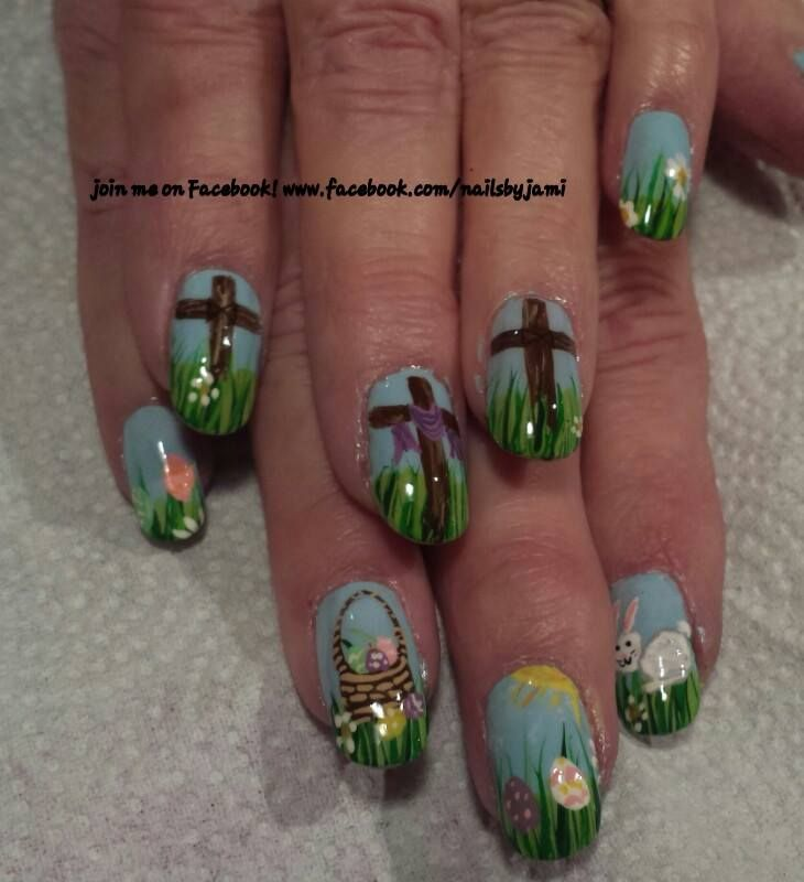 65 Absolutely Adorable Easter Nail Art Ideas To Get A New Look This ...