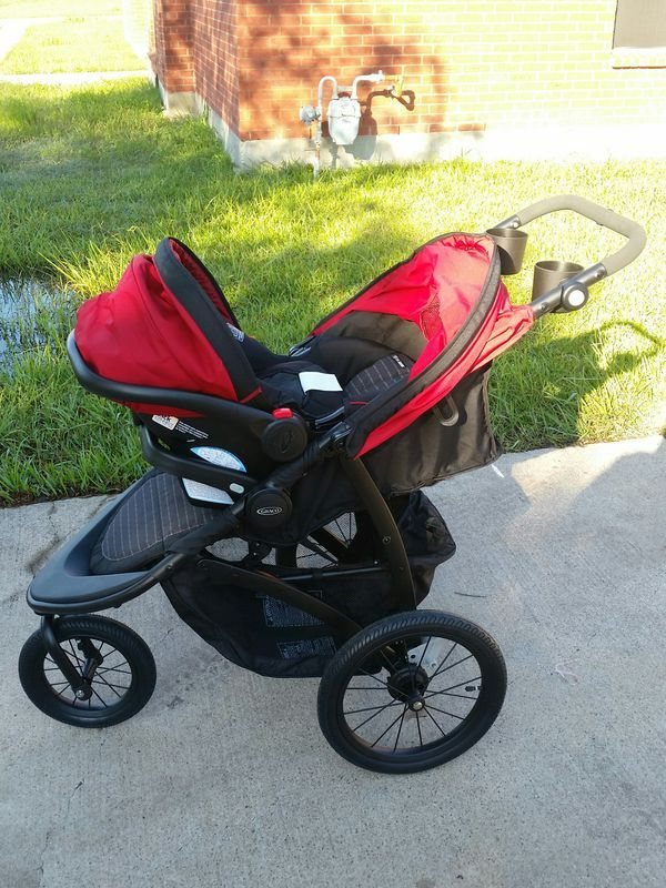 GRACO Roadmaster Jogger Stroller/Car Seat all in one, in