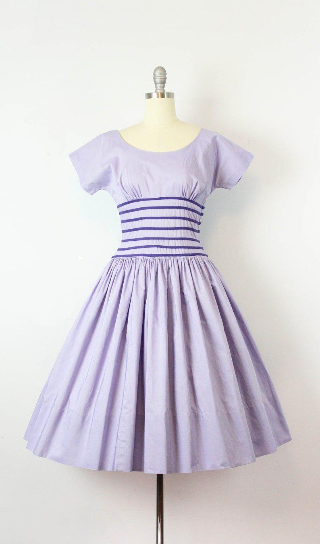Reserved Vintage 50s Dress 1950s Cotton Sundress Purple Etsy Vintage Dresses 50s Dresses Cotton Sundress [ 1351 x 794 Pixel ]